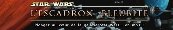 Bannière de Star Wars - L'Escadron Bleubite