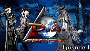 Bannière de la saga Delta Agency