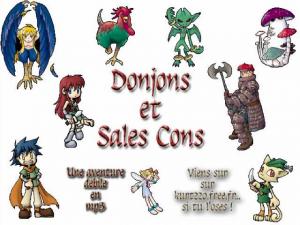 Bannière de la saga Donjons & Sales Cons de kurt 220